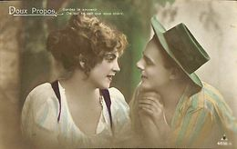 029 845 - CPA - Thème - Couple - Romance - Romantique - Série Doux Propos - Couples