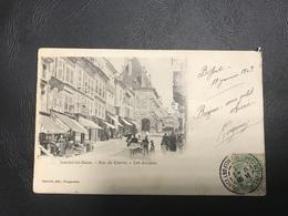 LUXEUIL LES BAINS Rue Du Centre - Les Arcades - 1903 Timbrée - Luxeuil Les Bains