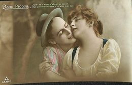 029 849 - CPA - Thème - Couple - Romance - Romantique - Série Doux Propos - Couples