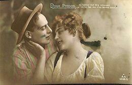 029 850 - CPA - Thème - Couple - Romance - Romantique - Série Doux Propos - Couples