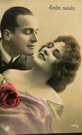 029 856 - CPA - Thème - Couple - Romance - Romantique - Enfin Seuls - Couples