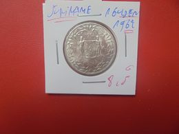 SURINAME 1 GULDEN 1962 ARGENT  (A.14) - [ 4] Colonie