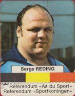 Sticker Autocollant Aufkleber Serge Reding Sport Gewichtheffen Gewichtheber Weightlifting Haltérophilie - Aufkleber