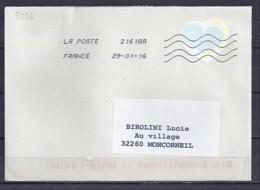 TP N° 5026 SUR LETTRE DU 29.1.16 - 1961-....
