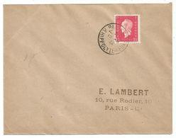DULAC 1FR50 LETTRE PARIS 19.9.1944 1ER JOUR - 1944-45 Marianne Of Dulac