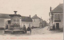 AMBONNAY - PLACE DE LA FONTAINE - France