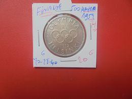 """FINLANDE 500 MARKKAA 1952 """"H"""" ARGENT (A.14) - Finlandia"""
