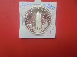 "MARSHALL 50$ 1989 ""CONQUETE DE L'ESPACE"" ARGENT PUR 999/1000 (A.14) - Marshallinseln"