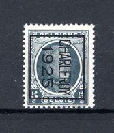 PRE123B MNH** 1925 - CHARLEROY 1925 - Typografisch 1922-31 (Houyoux)