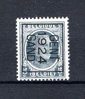 PRE106B MNH** 1924 - GENT 1924 GAND - Typos 1922-31 (Houyoux)