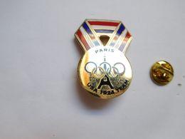 Beau Pin's En EGF , JO Jeux Olympiques , USA 1924 Team  , Paris Tour Eiffel - Olympische Spelen