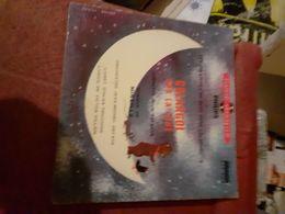 Un Livre Disque 45 Tours Colargol Sur La Lune Mais Manque Le Disque - Kinderlieder