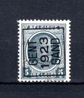 PRE086A MNH** 1923 - GENT 1923 GAND - Typografisch 1922-31 (Houyoux)