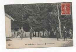 Cpa 54 BACCARAT Le  20° Bataillon De Chasseurs à Pied 2°compagnie Le Poste De Garde - Baccarat