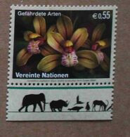 Vi05-01 : Nations-Unies (Vienne) / Protection De La Nature - Orchidée Cymbidium Ensifolium - Vienna – International Centre
