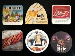 Lot De 6 Sous-bock Bière - Sous-bocks