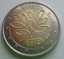 """FINL   2004 Pièce Commémorative  2€  """"Expansion De L'union Européenne""""  (ex2)...  Non Circulée (UNC) - Finland"""
