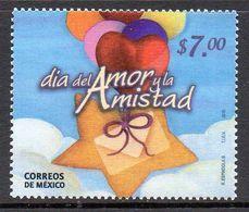 Mexique Mexico 2506 Journée De L'amour Et De L'amitié, Coeur - Celebrations