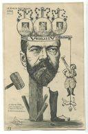 Orens Le Burin Satirique N°40 Zar Tsar Nicolas Finlande Pologne Sibirie 1903 Edition 250 Ex! RR!! - Orens