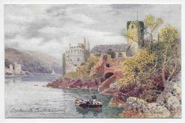 DARTMOUTH Castle & Church - Artist H.B. Wimbush - Tuck Aquarette 6265 - Altri