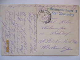 Frankreich Oberhausbergen Gefangenenlager Fort Kronprinz 1916 (13295) - War 1914-18