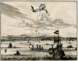 GA 15 - LA CITTA' DI AMBOINE - PIERRE VANDER - INCISIONE DI INIZIO 700 - Dimensioni Mappa Cm 35x28 - Prints & Engravings