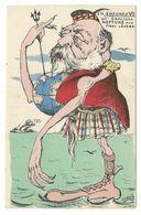 Orens Edouard VII Gracieux Neptune Aux Pieds Legere 1905 - Orens