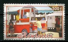 POLYNESIE 2004 N° 712 **  Neuf MNH Superbe Roulottes Car Transports - Nuevos