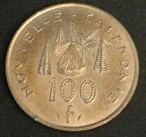 NOUVELLE CALEDONIE - 100 FRANCS 1991 - Avec IEOM - KM 15 - Case Néo-calédonienne - New Caledonia