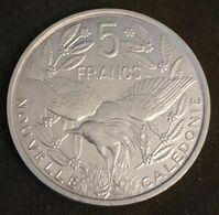 NOUVELLE CALEDONIE - 5 FRANCS 1992 - Avec IEOM - KM 16 - Oiseau Cagou - Qualité - New Caledonia