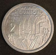 LA REUNION - 2 FRANCS 1948 - REPUBLIQUE FRANÇAISE - KM 8 - Qualité - Réunion