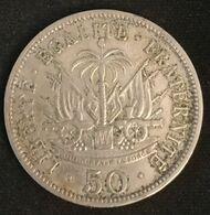 HAITI - 50 CENTIMES 1908 - KM 56 - Président Nord Alexis - Haïti