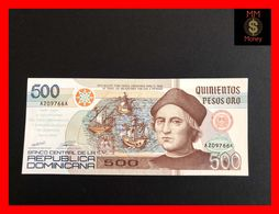 DOMINICANA 500 Pesos Oro 1992 *COMMEMORATIVE*   Columbus  P. 140  UNC - Dominicana