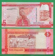 GAMBIA - 5 DALASIS – 2015 - UNC - Gambia