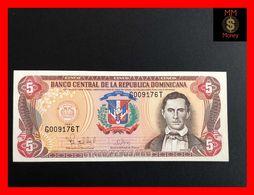 DOMINICANA 5 Pesos Oro 1997  P. 152   UNC - - Dominicana