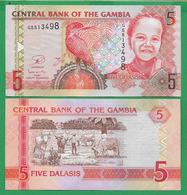 GAMBIA - 5 DALASIS – 2013 - UNC - Gambia