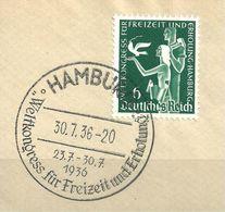 MiNr. 622 Briefstück (b01) - Gebraucht