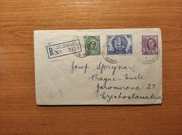 EX-PR-20-07-74 R-LETTER FROM COFF'S HARBOUR JETTY, N.S.W. TO PRAHA. 1946 - Covers & Documents