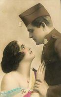 029 877 - CPA - Thème - Couple - Romantique - Je T'aime - Couples