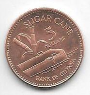 *guyana 5 Dollars  2008  Km 51  Bu /ms65 - Guyana