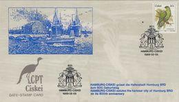 Hamburg Ciskei 1989 - Wappen Löwe - Ciskei