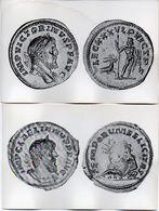 Monnaie - 2 CP - Monnaies Romaines En Or : Lelien Et Victorin  . (119600 - Münzen (Abb.)