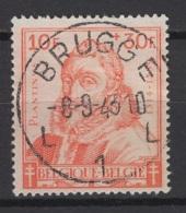 Belgique: 1942. COB : 601 Oblitéré(s). - Belgium
