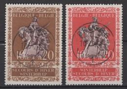 Belgique: 1942. COB : 613/14. Oblitéré(s). - Belgique