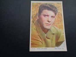 Artiste ( 1085 )  Artiest ( Pas Une Carte Postale ) Burt Lancaster : Bioscoopreclame Reclame Cinema Gent  Gand - Werbetrailer