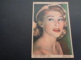 Artiste ( 1086 )  Artiest ( Pas Une Carte Postale ) Martine Carol : Bioscoopreclame Reclame Cinema Gent  Gand - Werbetrailer