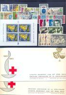 Volledige 1964 Postgaaf ** MNH Prachtig + Blok  + Zegel Uit Blok 59 Côte + Boekjes Rood Kruis - Full Years