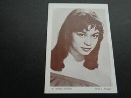Artiste ( 1089 )  Artiest ( Pas Une Carte Postale ) Marie Versini : Bioscoopreclame Reclame Cinema Gent  Gand - Werbetrailer