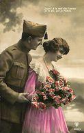 029 888 - CPA - Thème - Couple - Romantique - Romance - Amour - Couples
