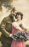 029 889 - CPA - Thème - Couple - Romantique - Romance - Amour - Couples